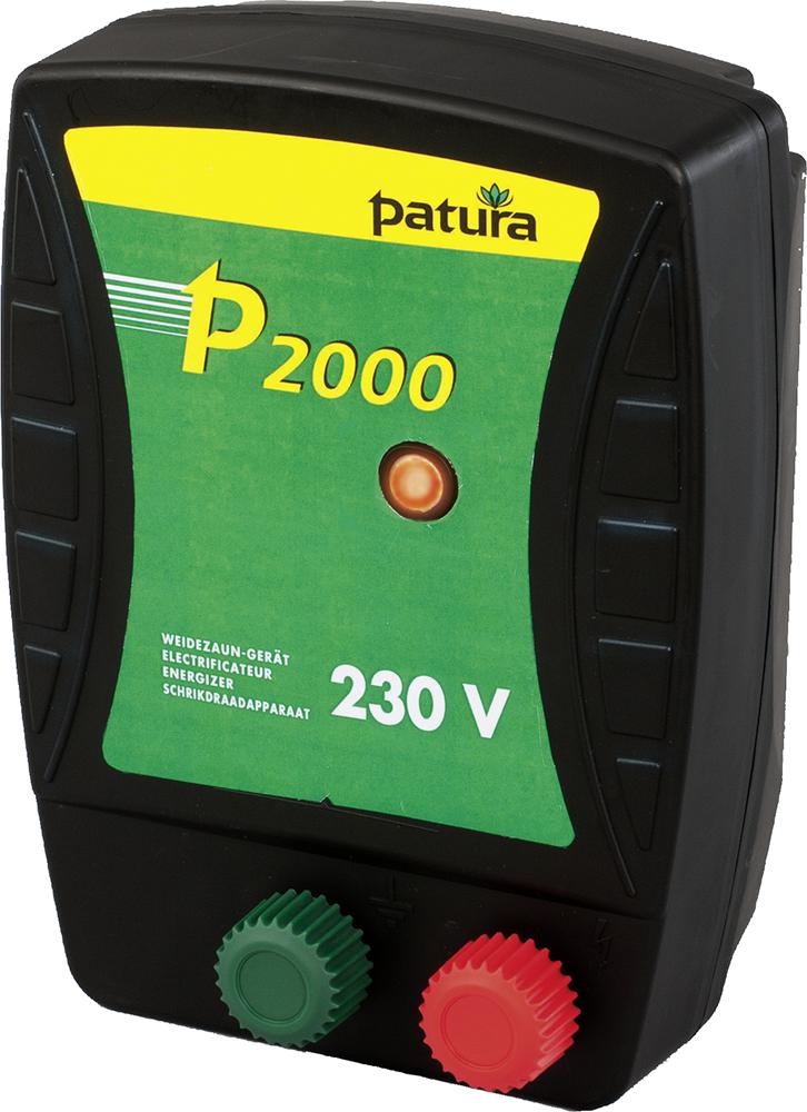 P2000, Weidezaun-Gerät für 230 V Netzanschluss