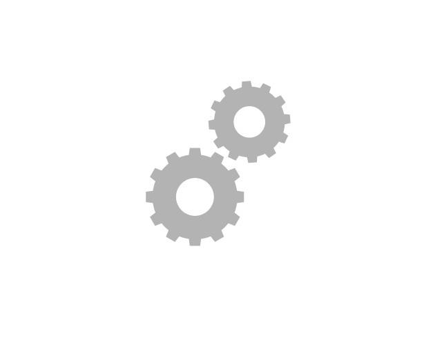 Halter für Schwingbürste Midi für Rundpfosten  Ø 76 mm