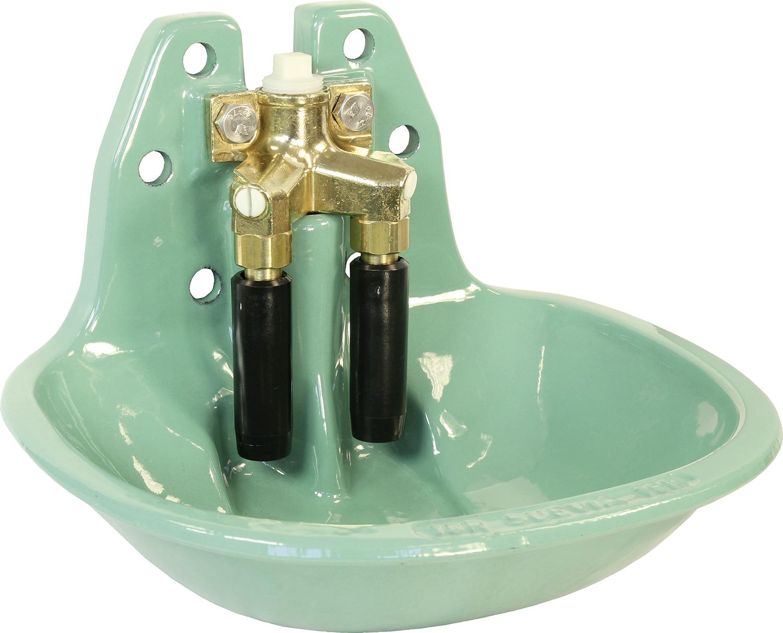 SUEVIA Doppel-Rohrventil-Becken Mod. 19R