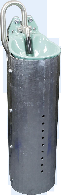 SUEVIA Stahlständer für Mod. 25 R Höhe 80 cm