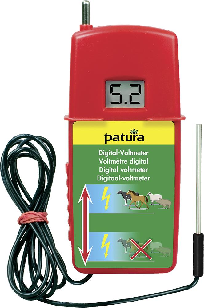 Digital-Voltmeter mit zuschaltbarem Belastungswiderstand