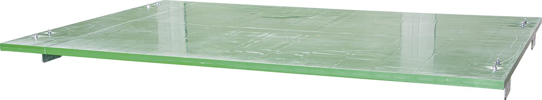 Abdeckung ohne Wärmeplatte inkl. U-Profile für Kälberbox