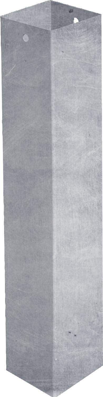 Einbauhülse für Quadratpfosten 90 mm