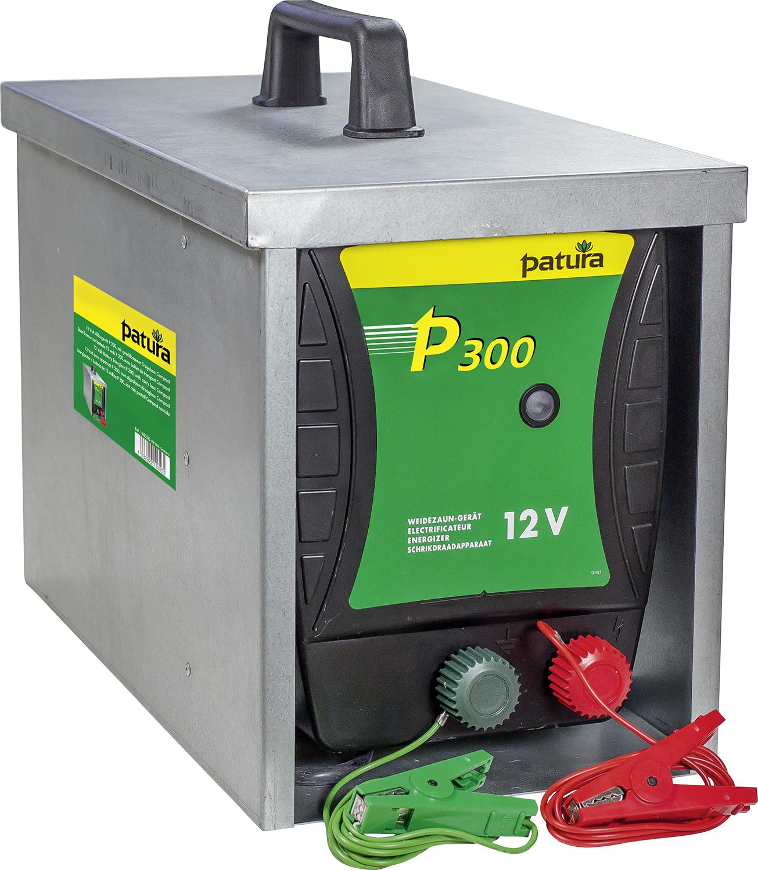 P300, Weidezaun-Gerät für 12 V Akku mit geschlossener Tragebox Compact