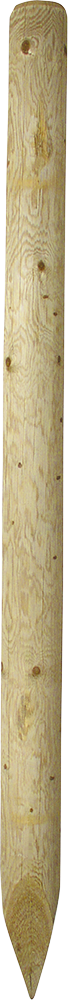 Holzpfosten, 2,75 m, Ø 16-18 cm