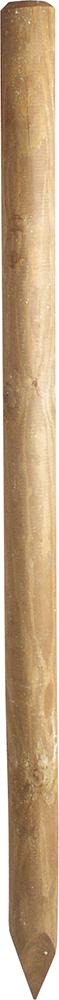 Holzpfosten, 1,75 m, Ø 10 cm