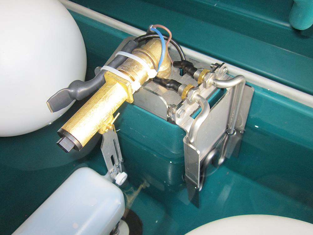 Zusatzheizung Thermoquell für Mod. 630/640, 24 Volt / 180 Watt mit Thermostatsteuerung