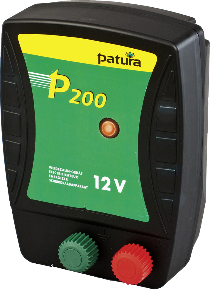 P200, Weidezaun-Gerät für 12 V Akku
