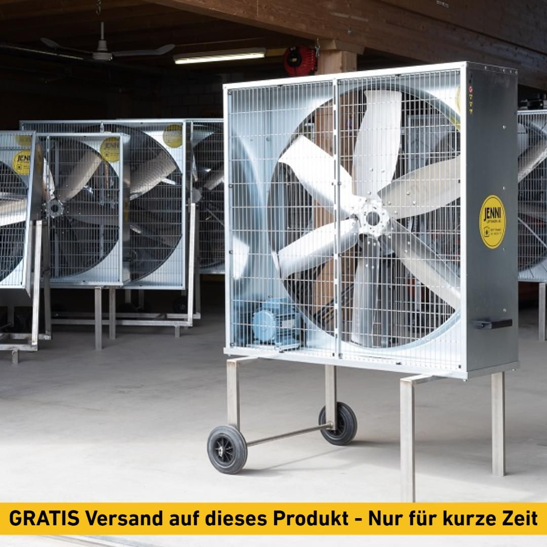 Mobiler Grossraum-Ventilator, PREMIUM, Typ 114, 0.55kW, FIX