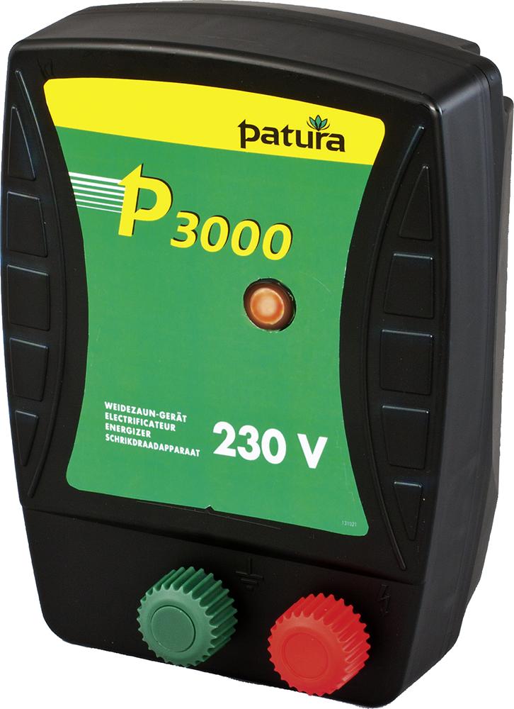 P3000, Weidezaun-Gerät für 230 V Netzanschluss