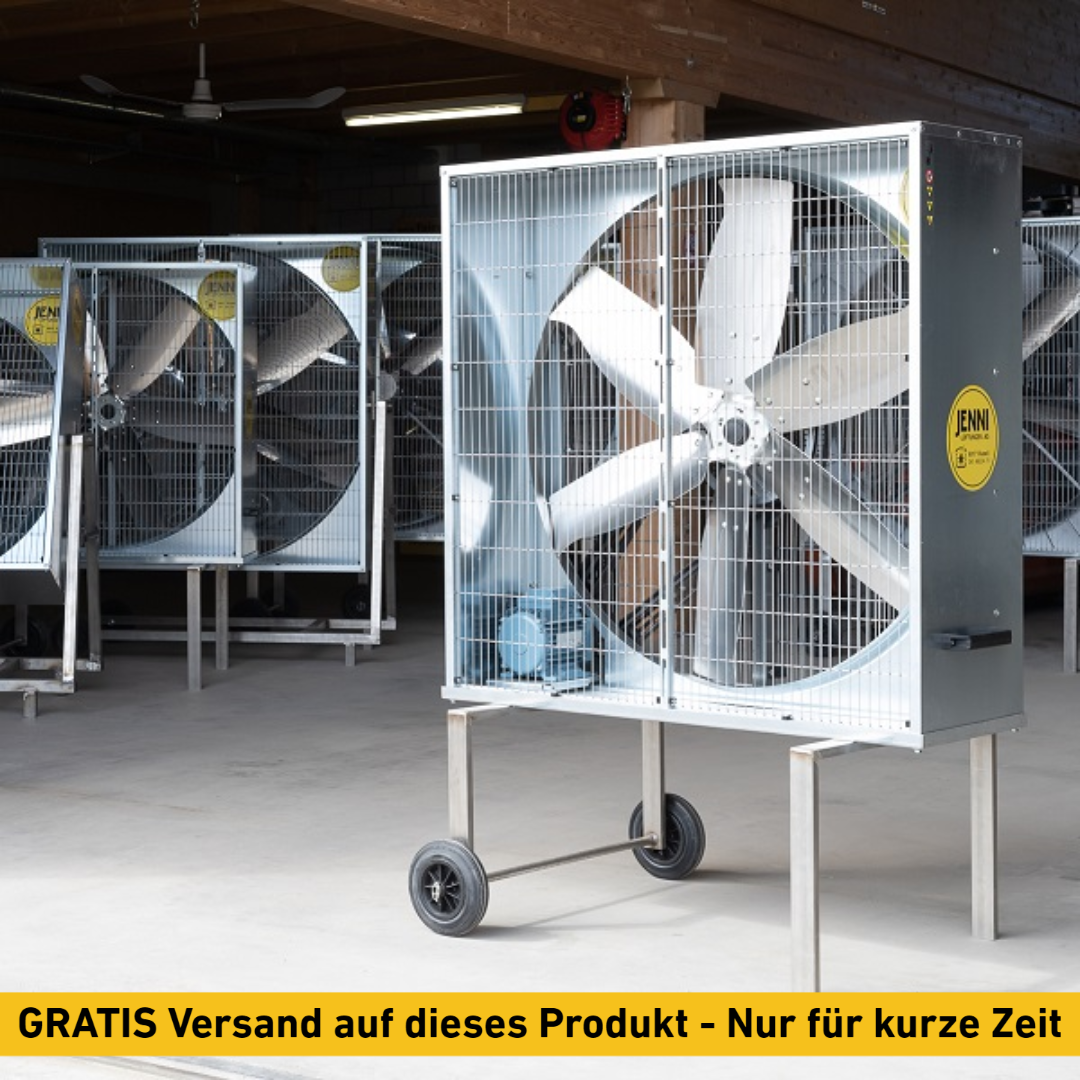 Mobiler Grossraum-Ventilator, PREMIUM, Typ 140, 0.75 kW, FIX