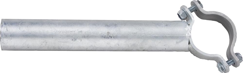 Einschub Schelle 76 einfach für Pfosten Ø 76 mm