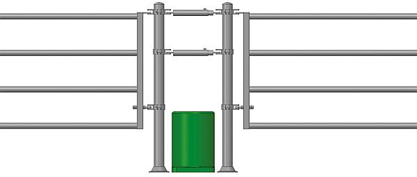 Abschlussrohr Standard für Thermoröhre