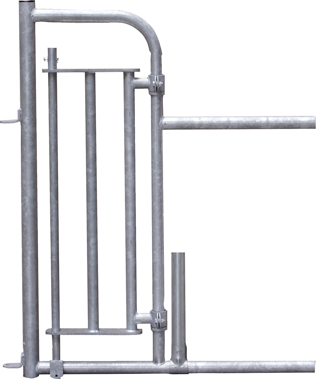 Personenschlupf für Fressgitter mit Tür