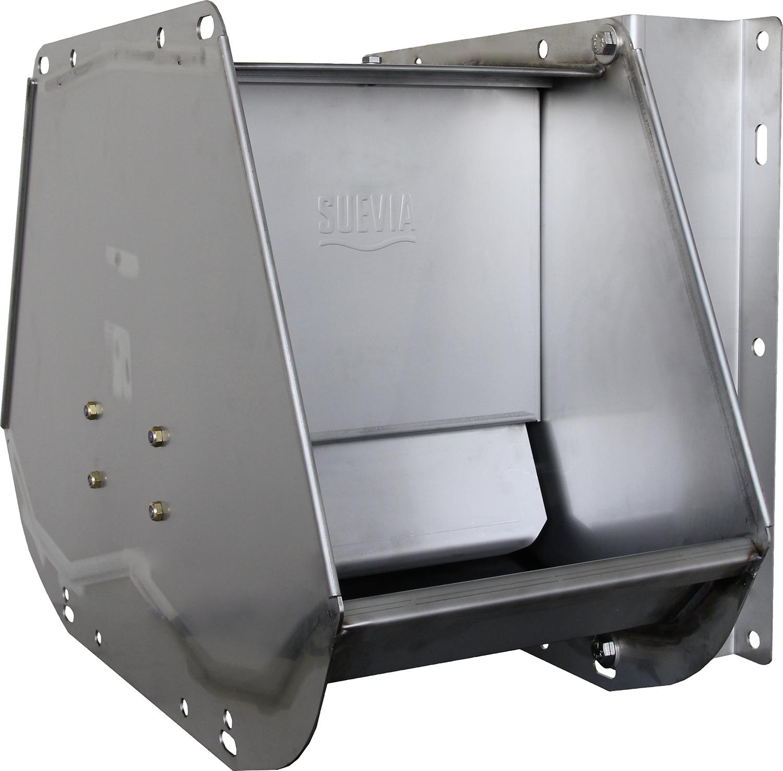 SUEVIA Doppel-Ventil-Trogtränke Mod. 520 Edelstahl