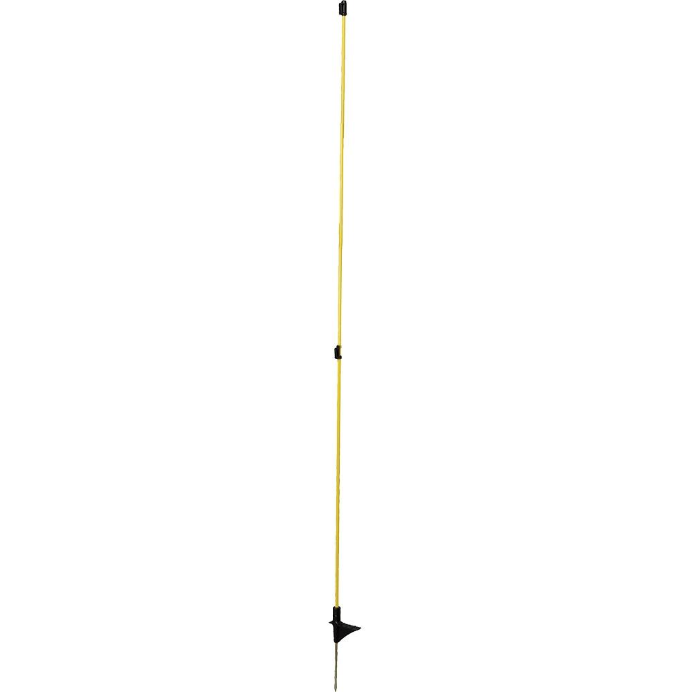 Oval-Glasfiberpfahl, 1,60m (10-er Pack)