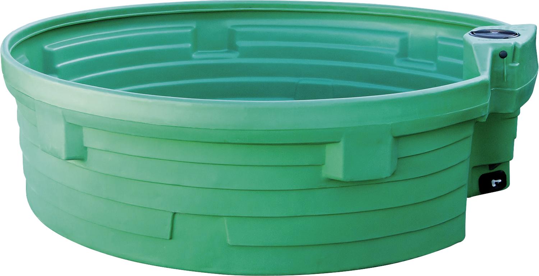 Weidetränke, rund, 1500 Liter