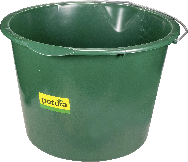 Kunststoff-Eimer, 20 Liter mit Ausguss