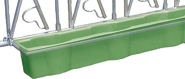 Kunststofftrog mit Eimereinsatz 2,5 m