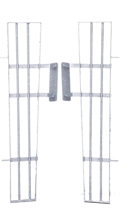 Anschluss für Kälberhütte XL an Panels