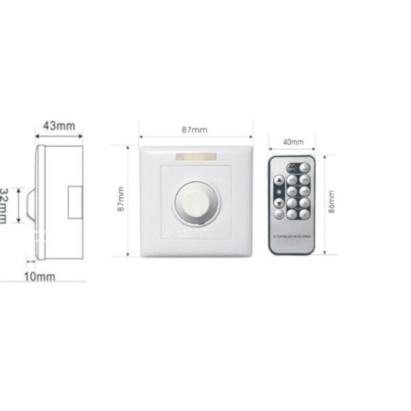 Line Dimmer +IR Remote Home