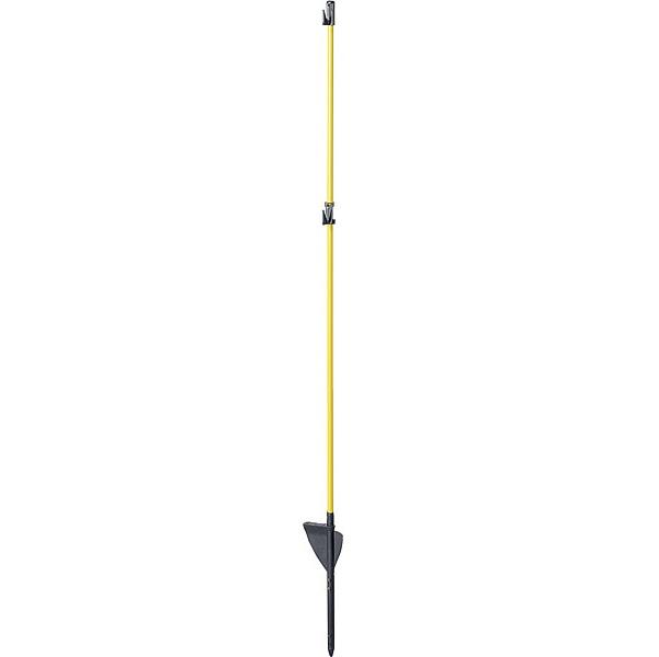 Oval-Glasfiberpfahl, 1,10 m (10-er Pack)