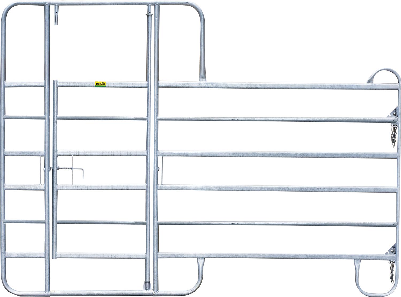 Panel-6 mit Behandlungstür, Höhe 2,20 m