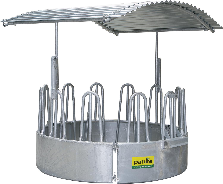 Dach für Rundraufe (12 Plätze)
