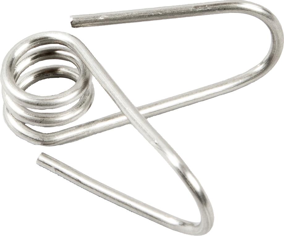 Edelstahl-Clip für Glasfiberpfahl 10 mm (25-er Pack)