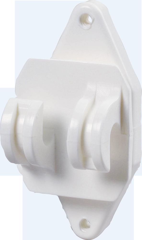 Festzaun-Isolator für Seile und HippoWire
