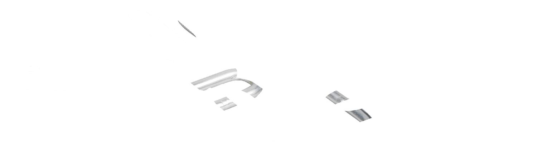 Einhängelaschen 3-fach, für T-Pfosten Isolatoren mit Stift