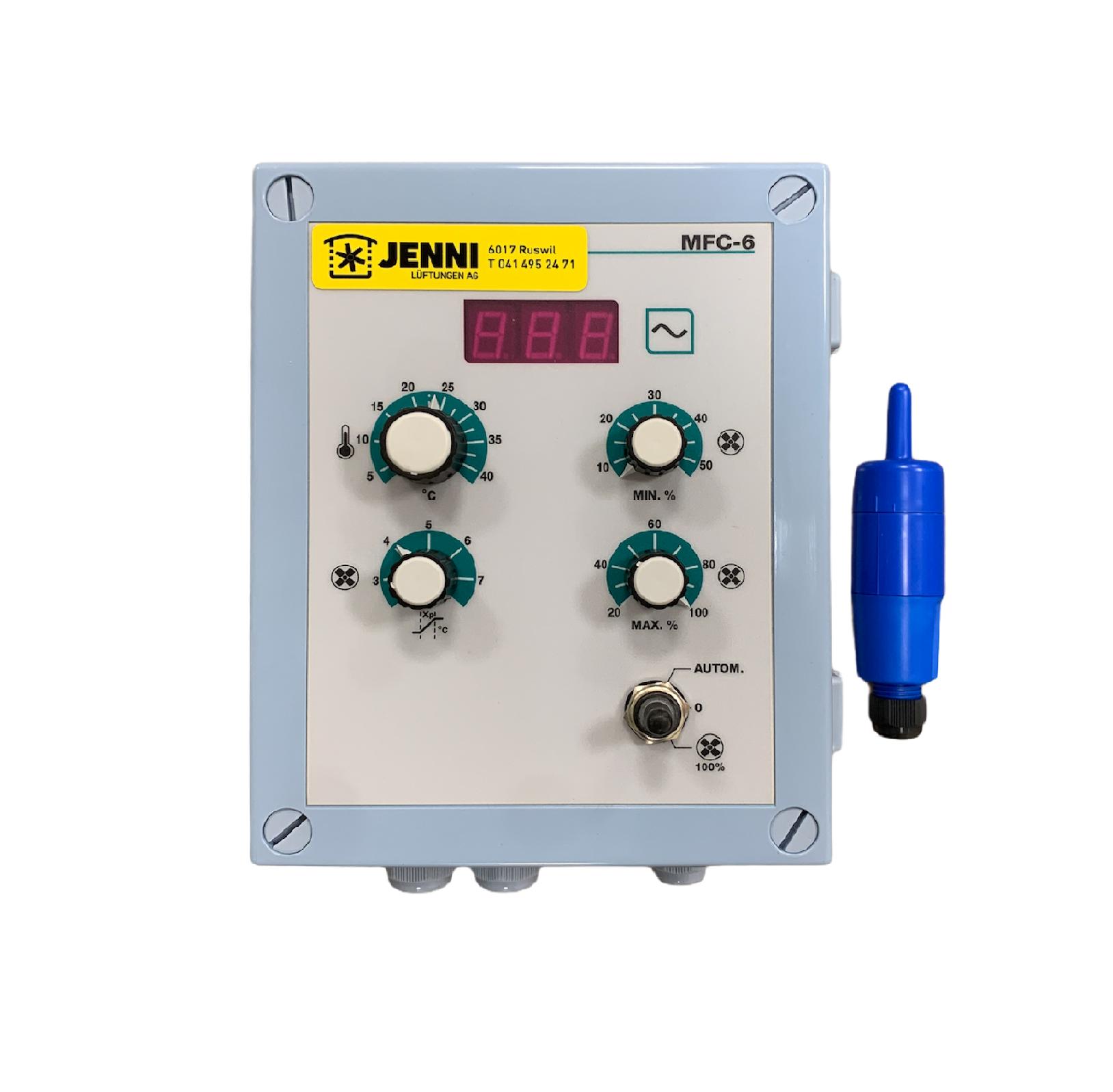 Klimasteuergerät Stienen MFC-6, 1x230V / 6A