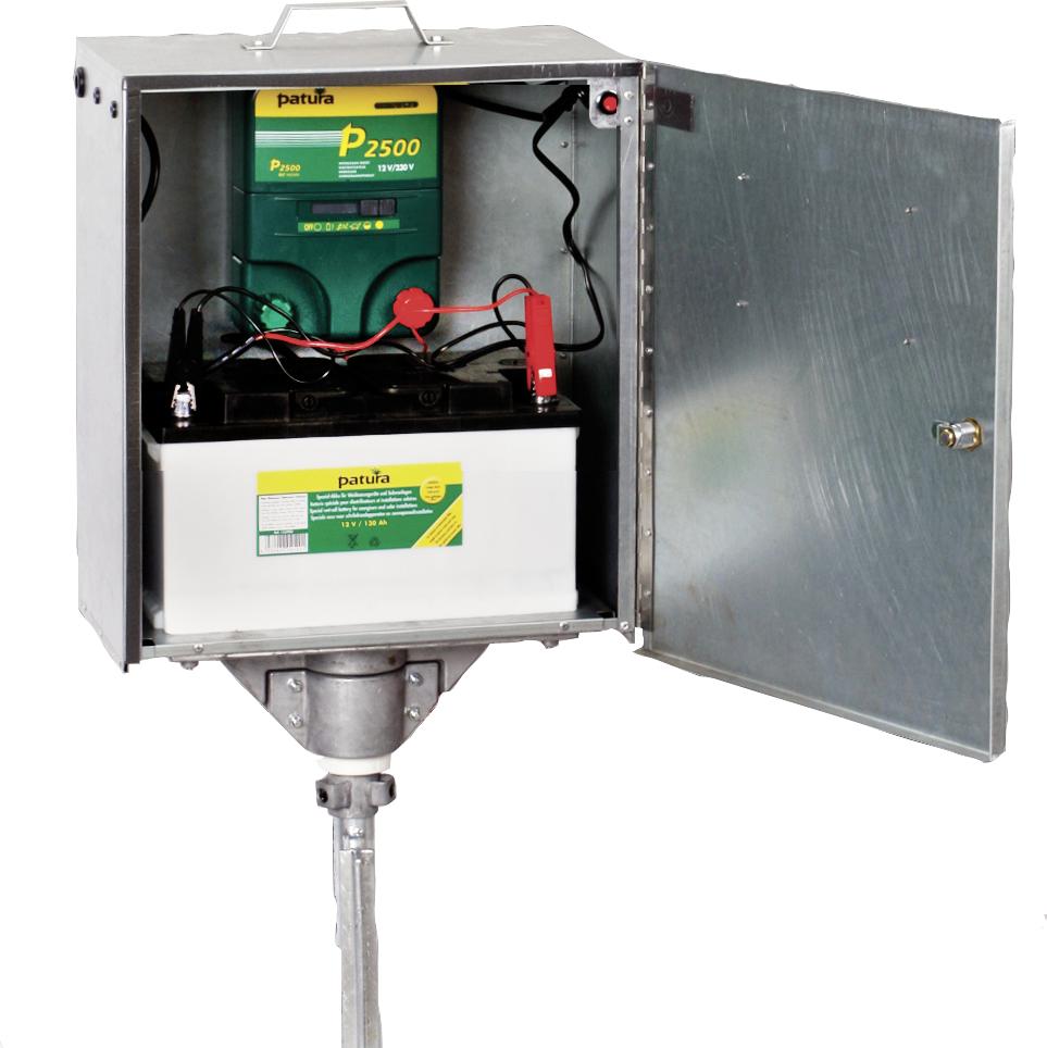 P2500, Multifunktions-Gerät, 230V/12V, mit elektrifizierter Box und Erdstab