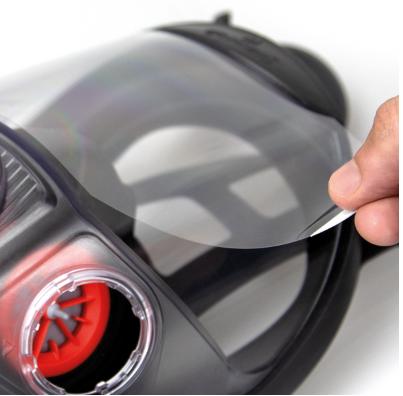 Visier Schutzfolie für Force ™ 10 Typhoon ™ Vollgesichtsmaske