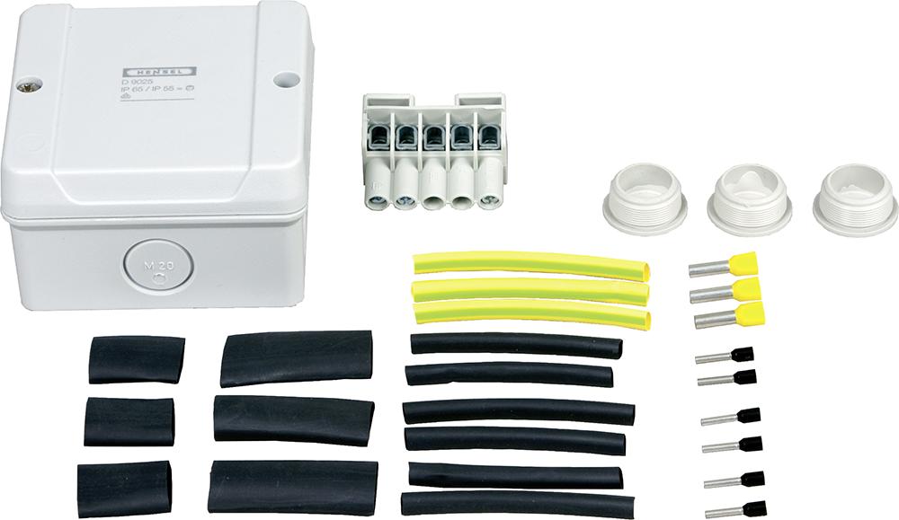 T-Abzweig-Set für selbstregulierendes Heizkabel