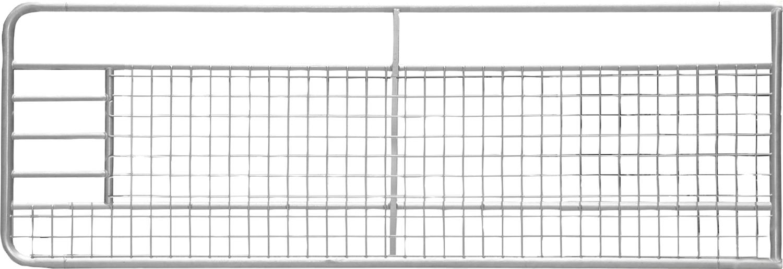 Weidezauntor fix mit Gitter, Höhe 1 m