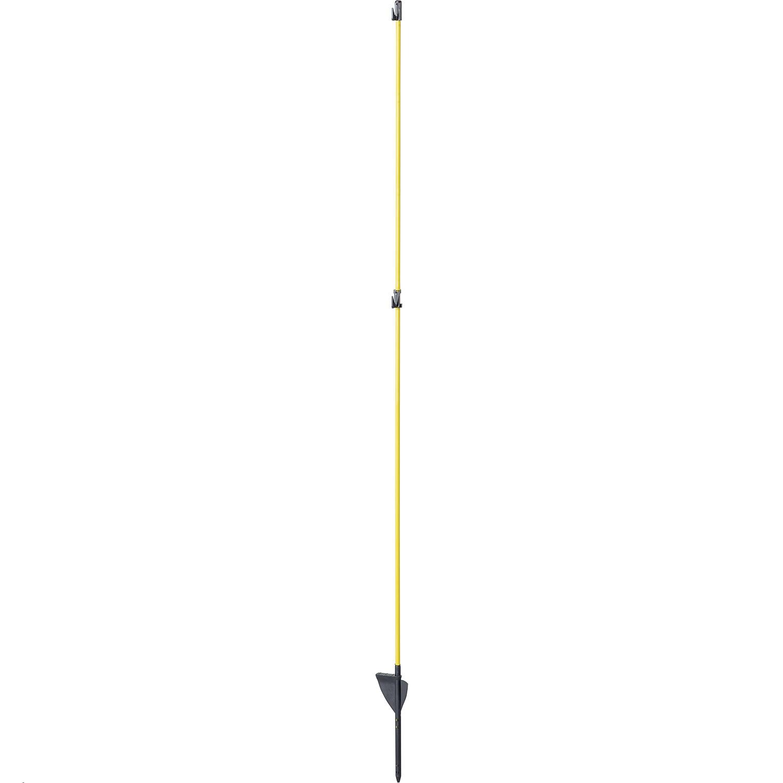 Oval-Glasfiberpfahl, 1,60 m (10-er Pack)