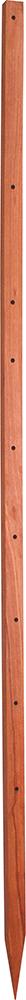 Hartholzpfahl 50x50 mm