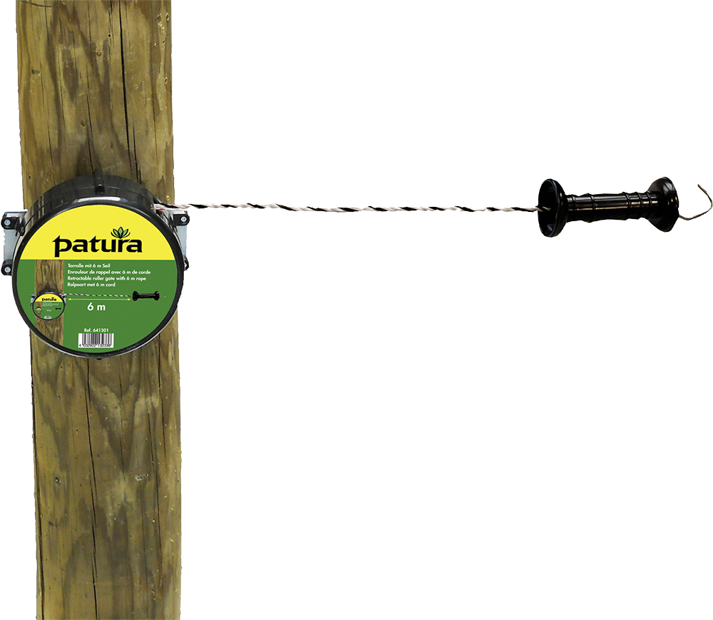 Torrolle mit 6 m Seil