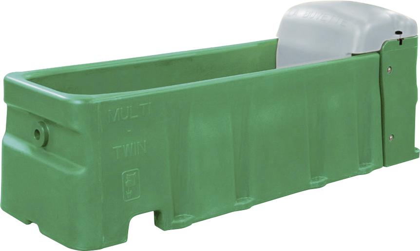 Tränkewanne Multi Twin S, mit zwei Hochdruckventilen