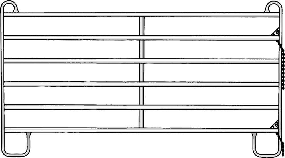 Panel 6, Höhe 1.70 m