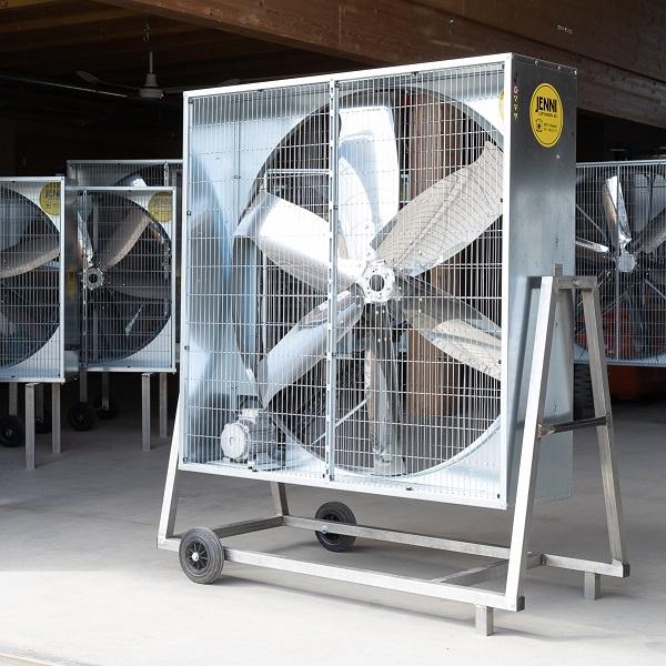Mobiler Grossraum-Ventilator, PREMIUM, Typ 140, schwenkbar