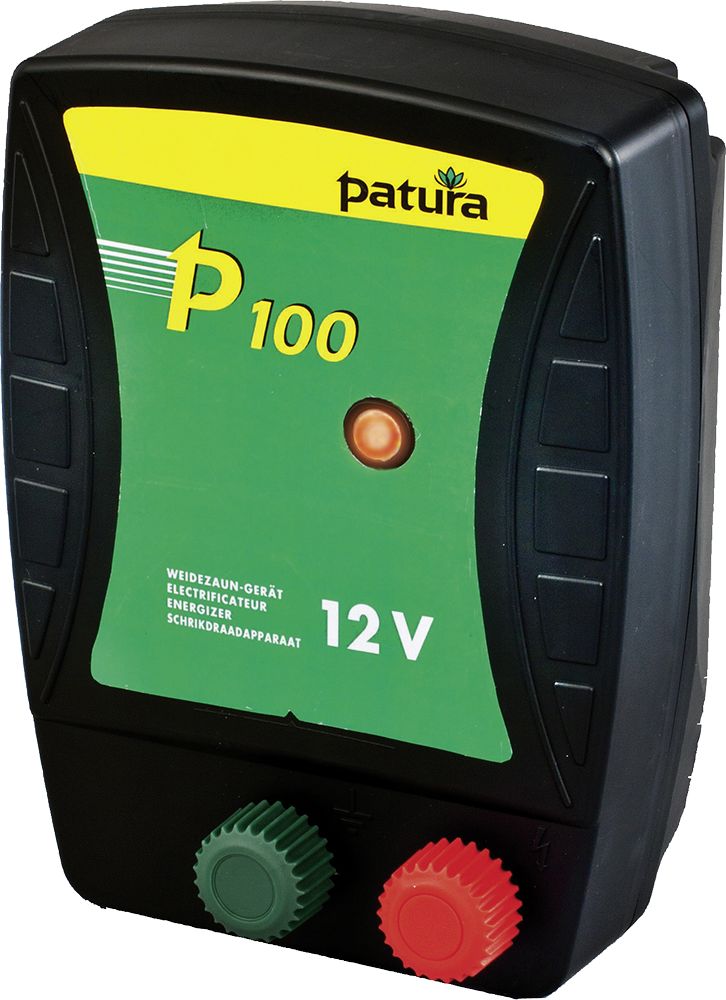 P100, Weidezaun-Gerät für 12 V Akku