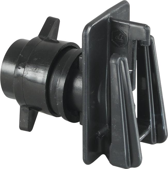 Schraub-Breitbandisolator für Pfähle bis 12 mm