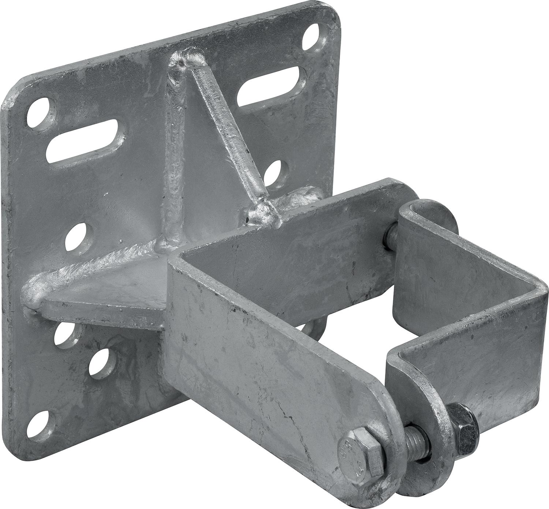 Schelle Quadrat 90 mm, Halter für Tränkebecken