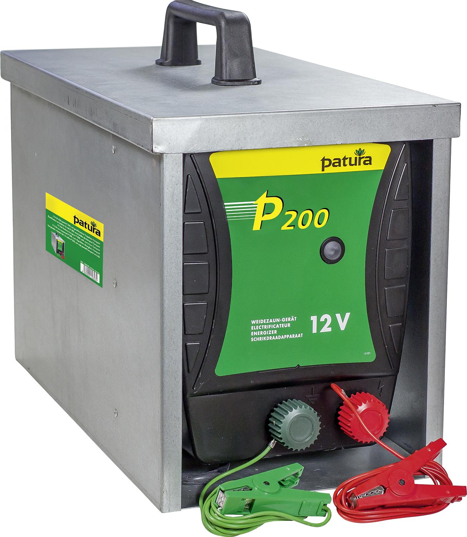 P200, Weidezaungerät für 12 V Akku mit geschlossener Tragebox Compact