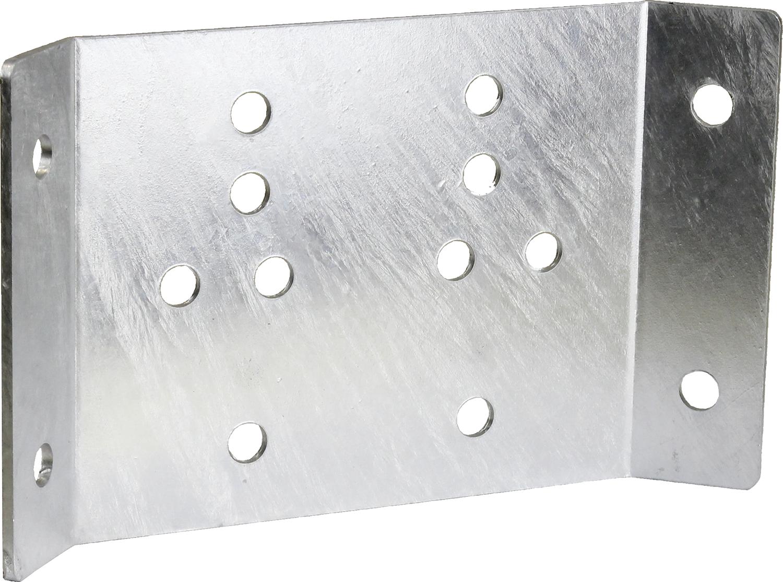 Eckhalterung für Tränkebecken Mod. 12P, 25R, 370, 375