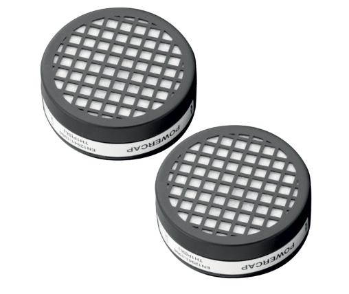 Powercap® Filter Schwarz