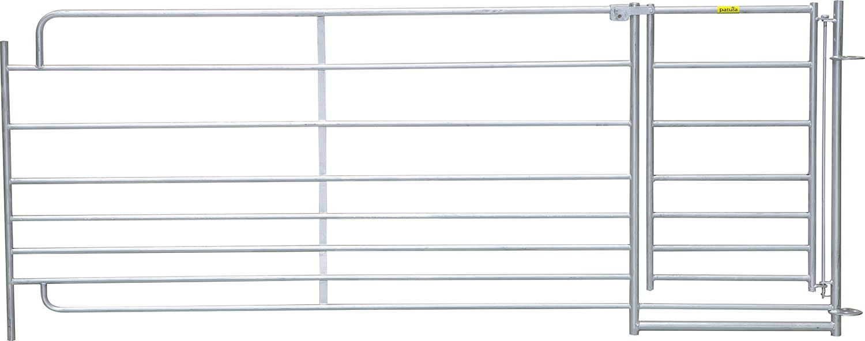 Steckfix-Horde XL mit Tor, 8 Rohre